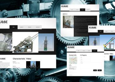 Сайт-візитка для виробника обладнання. Робота учня першого курсу.